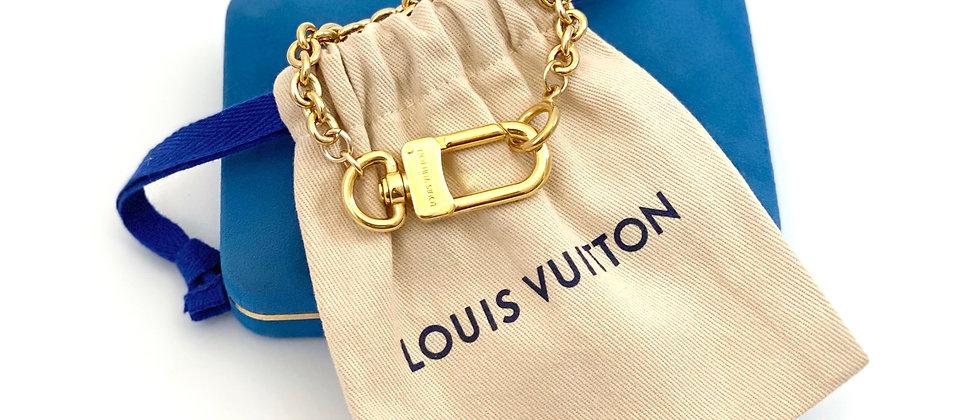 Repurposed Louis Vuitton Gold Swivel Clasp Bracelet