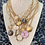 Thumbnail: Repurposed Vintage Gucci GG Small Gold Charm Choker Necklace