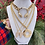 Thumbnail: Vintage Repurposed Gold Givenchy Logo Whistle Charm Necklace