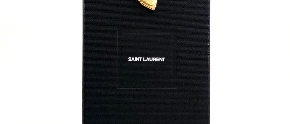Authentic Vintage Yves Saint Laurent YSL Heart Pin Brooch