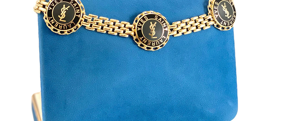 Repurposed YSL Accent Gold Panther Link Bracelet