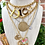 Thumbnail: Repurposed Gucci Sterling Silver Petite Reversible GG & Bee Charm Necklace