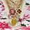 Thumbnail: Repurposed Louis Vuitton Large Gold LV Monogram Key Charm Necklace