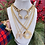 Thumbnail: Vintage Repurposed HUGE Givenchy Gold Runway Medallion Necklace