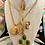 Thumbnail: Vintage Repurposed 1980's Givenchy Paris Lariat Script Logo Charm Necklace