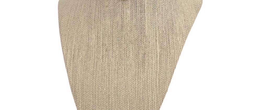 Repurposed Vintage Christian Dior Script Monogram Coin Choker Necklace