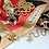 Thumbnail: Vintage Repurposed 1980's RARE Givenchy Gold Airplane Charm Necklace