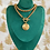 Thumbnail: Vintage Rare 1990's Repurposed Christian Dior CD Double Choker Toggle Necklace