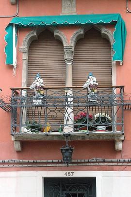 Balcony Gnomes