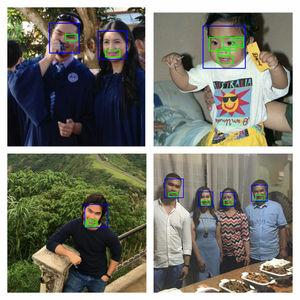 CNN:Image Classification - Face Detection Using Haar Cascades