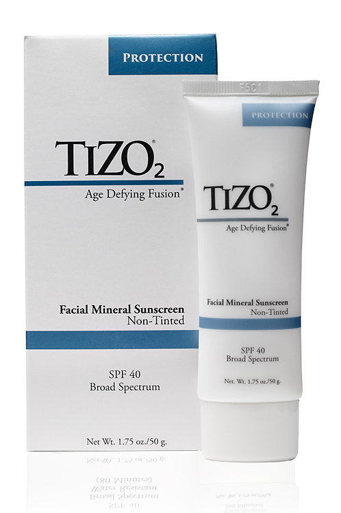 Tizo2 Facial Mineral Sunscreen SPF 40 (Non-Tinted)
