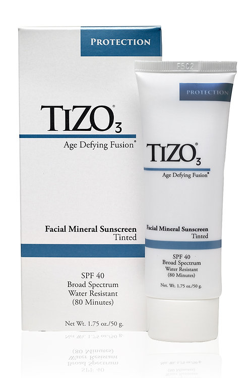 Tizo3 Facial Mineral Sunscreen SPF 40 (Tinted)