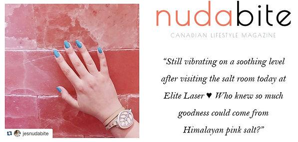 Nudabite, Blog, Halotherapy, Salt Room, Blog, Blogger, Instagram