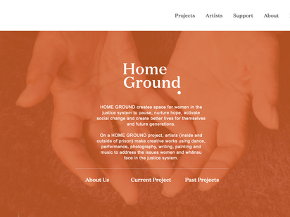 New Website from Home Ground