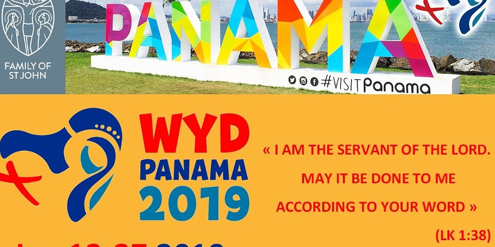 World Youth Days in Panama with the Brothers of St John