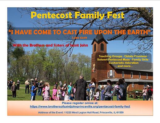 Pentecost Family Fest 2019 - General Fye