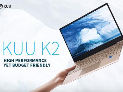 KUU K2 Laptop, Hochwertiges Notebook, mit speziellen Funktionen.