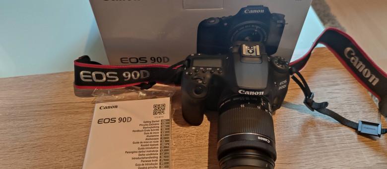 Canon EOS 90D Spiegelreflexkamera