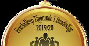 Wir haben unseren Tippmeister für die Saison 2019/2020 der 1. Bundesliga gefunden!