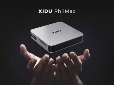 XIDU PhilMac Mini PC, Leistungsstark für Multitasking, edles Design das an Mac Mini erinnert