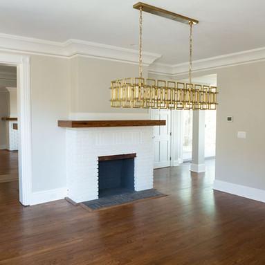 Fireplace/foyer