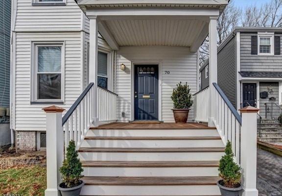 Front entrance (home flip)