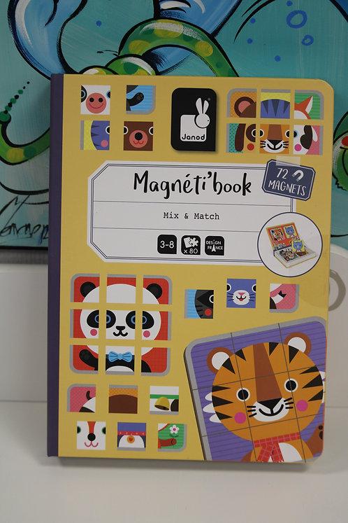 Magnéti'book mix et match