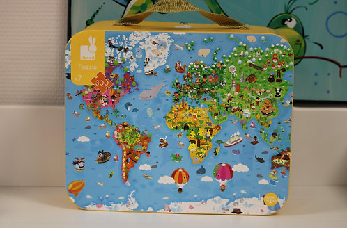 Puzzle géant du monde 300pcs
