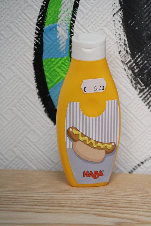 Flacon de moutarde