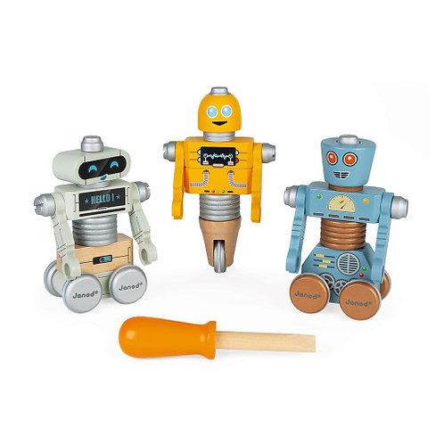 ROBOTS À CONSTRUIRE BRICOKIDS