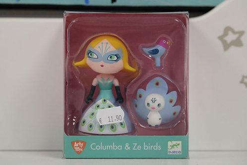 Columba & Ze birds princesse
