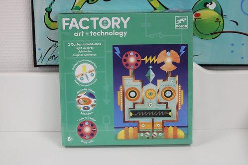 Cyborgs 2 tableaux à illuminer Factory