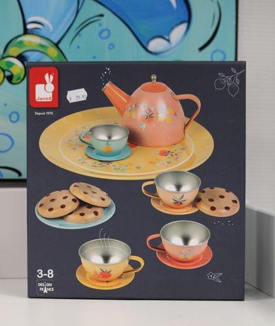 Dinette metal Service à thé