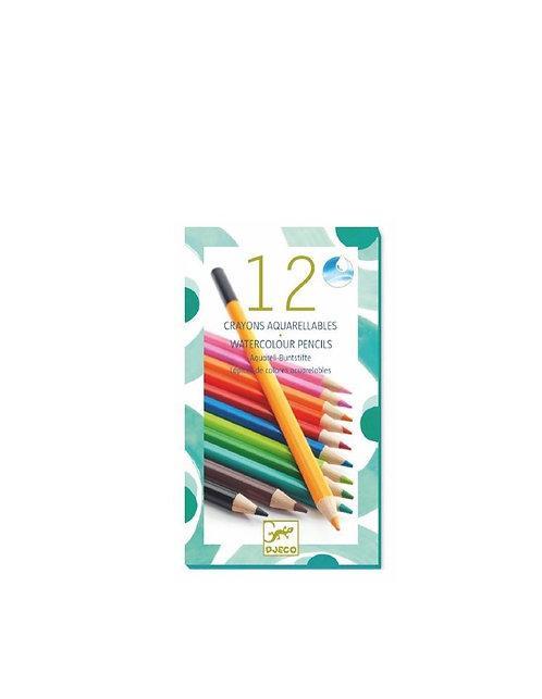 Crayon aquarellable classique