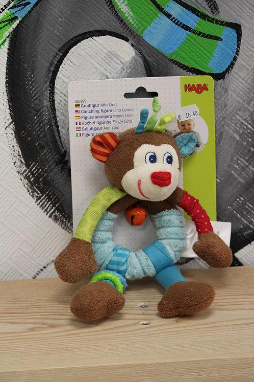 Hochet figurine singe Lino