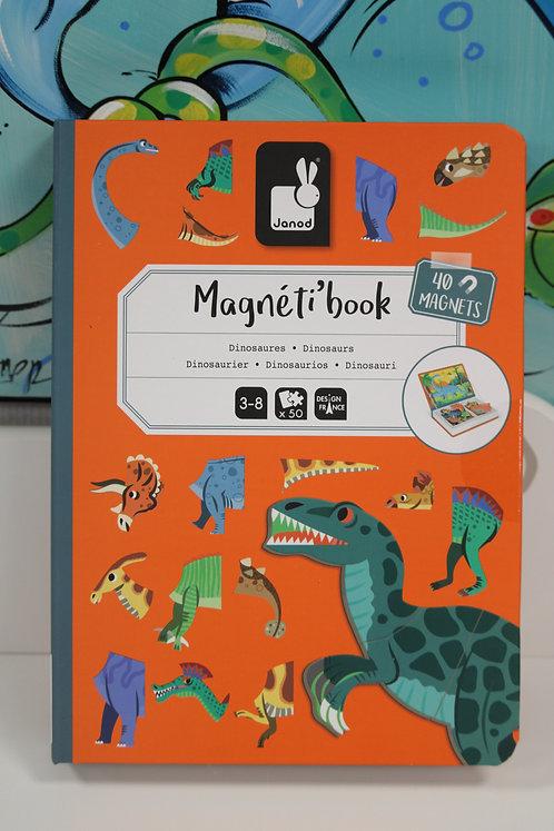 Magnétibook dinosaures