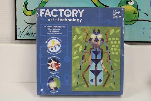 FACTORY cartes lumineuses Insectarium