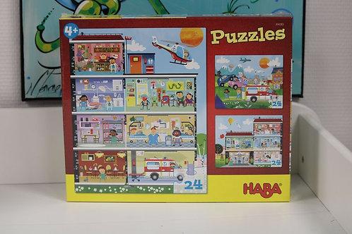 Puzzles Mon petit hôpital