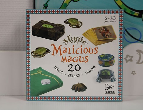 Malicious magus 20 tours de magie