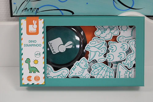 Coffret 15 tampons dino