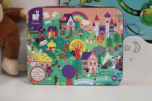 Puzzle 24 PCS Contes