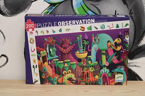 Puzzle d'observation dans un jeu vidéo 200 pièces