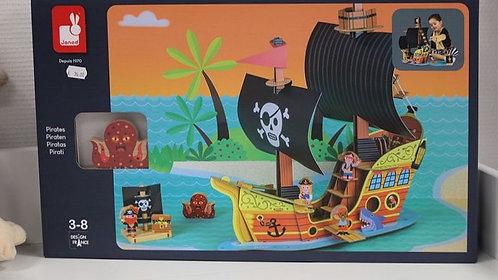 bateau Pirates Story