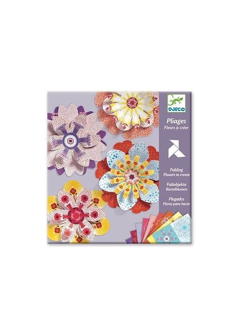 Pliages  Fleurs à créer