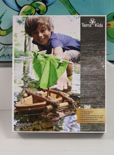 Terra Kids Kit d'assemblage Bateau en liège