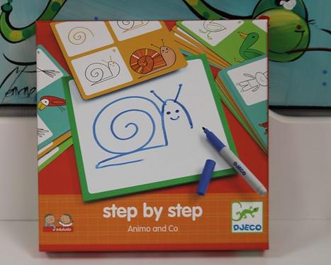 Apprendre à dessiner Step by step Animals and Co