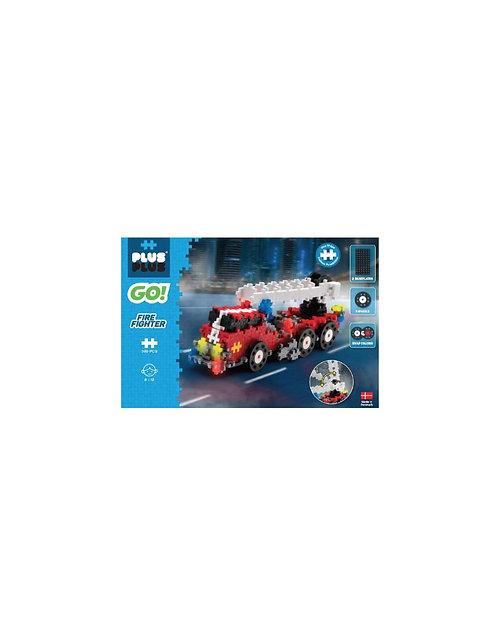 Plus Plus Go pompier 500 pièces - jeu de construction