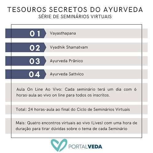 Curso: Tesouros Secretos do Ayurveda