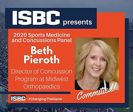 Next on our Sports Medicine and Concussi