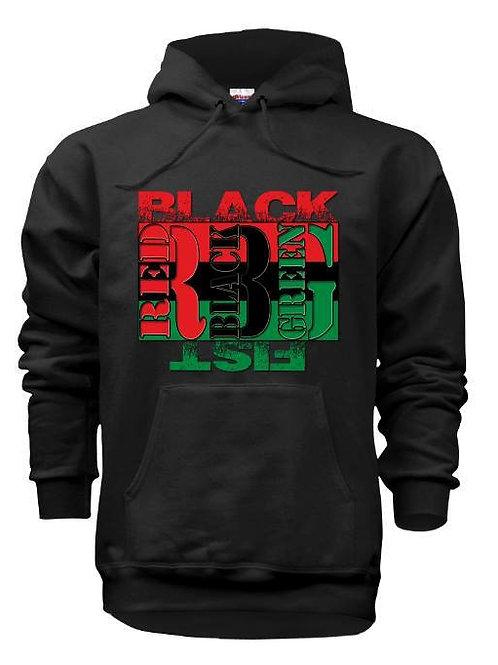 RBG FLAG BLACKFIST HOODIE BLACK